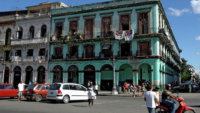 На улицах Гаваны. Архивное фото