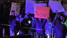 Не мой президент - акции против победы Трампа на выборах прошли в США