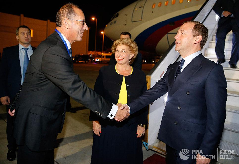 Официальный визит премьер-министра РФ Д. Медведева в Израиль