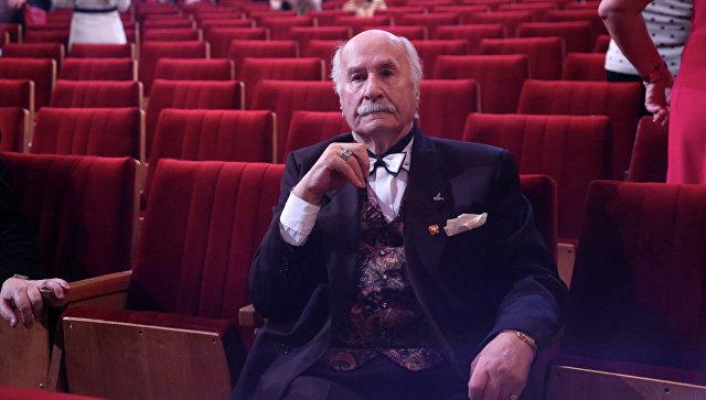 Актер Владимир Зельдин, архивное фото