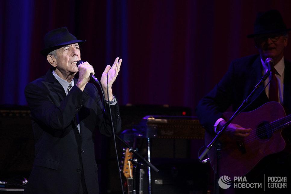Концерт Леонарда Коэна в Москве