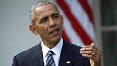 Президент США Барак Обама в Вашингтоне,  Архивное фото
