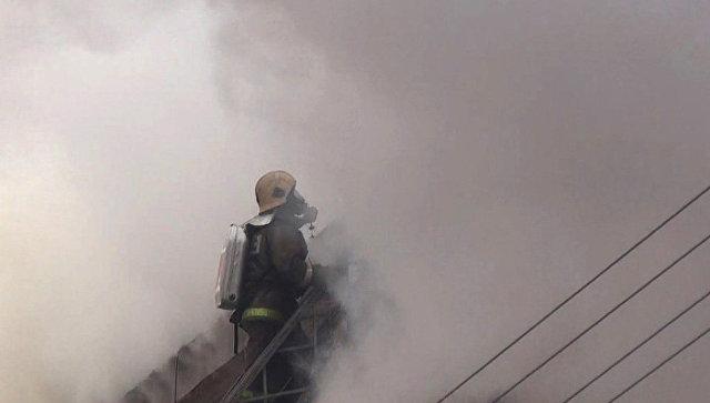Вмногоэтажном здании компании «Газпромнефть-Восток» вТомске произошел пожар