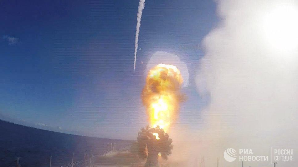 СКР Адмирал Григорович впервые задействован в операции в Сирии
