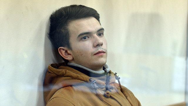 Филипп Будейкин (Лис) в  Октябрьском районном суде Санкт-Петербурга