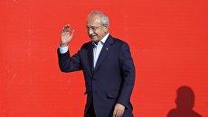 Лидер оппозиционной Народно-республиканской партии Турции Кемаль Кылычдароглу в Стамбуле. 7 августа 2016 года