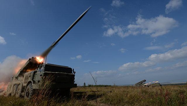 ВоенныеРФ вТаджикистане получат дивизион реактивных систем «Ураган»