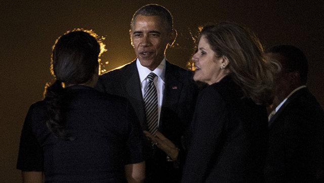 СиЦзиньпин встретился спрезидентом СШАБ. Обамой