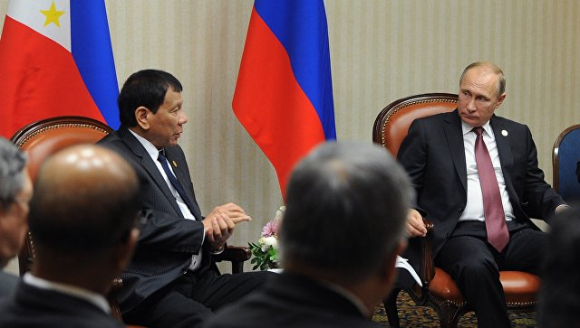 В Кремле началась встреча Путина и Дутерте