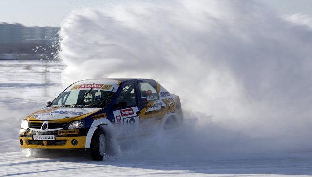 Зимняя автогонка