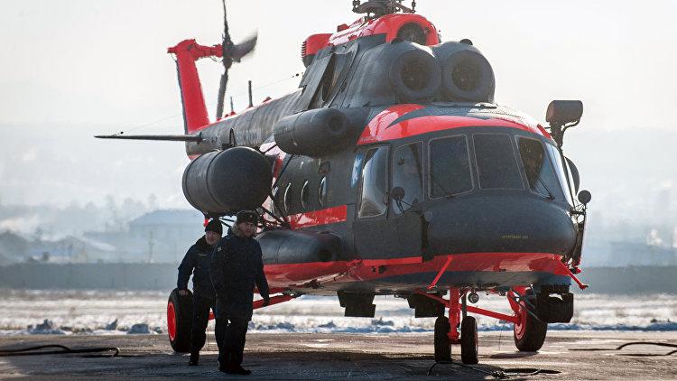 Морской авиации ВМФ передали 1-ый «арктический» вертолет Ми-8