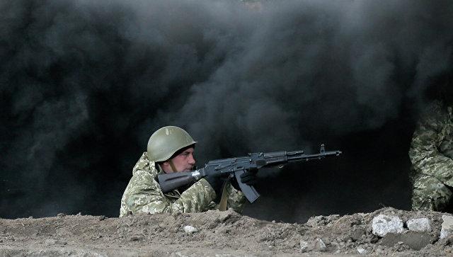 ВЧернигове «совершено нападение» навоинскую часть