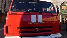 Машина пожарной службы. Архивное фото
