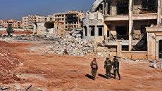Военнослужащие сирийской армии в Алеппо. Архивное фото
