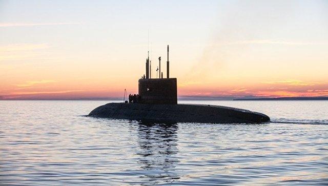 Новая подлодка «Колпино» принята всостав ВМФ РФ