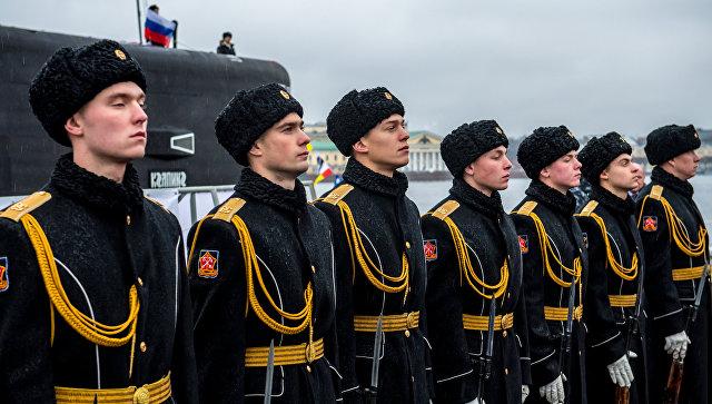 ВРФ отмечается День моряка-подводника