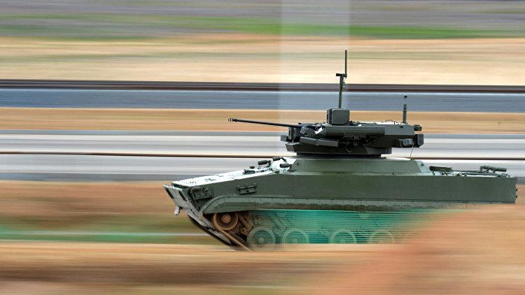 «Рособоронэкспорт» готовится продвигать наэкспорт новейших боевых роботов