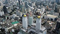 Вид на Бангкок. Таиланд, 2016. Архивное фото
