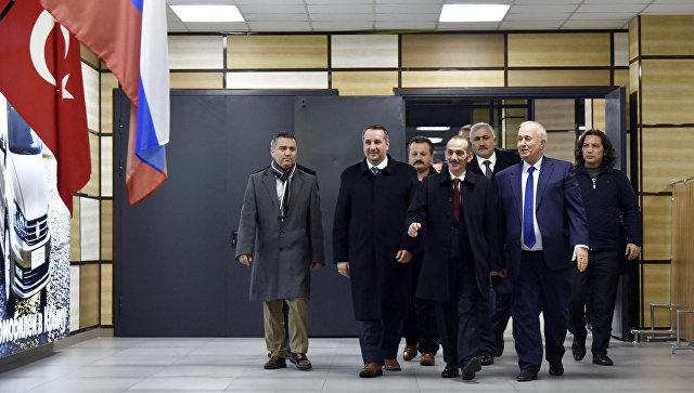 Турецкая делегация поехала вКрым неофициально ибез разрешения МИД Турции