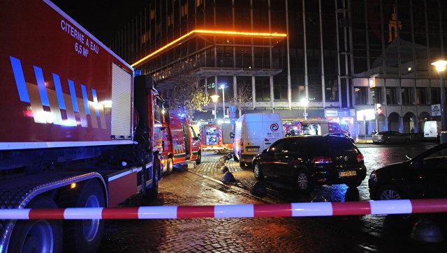 Впожаре на стоянке вбельгийском Льеже пострадали два человека