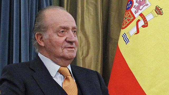 Король Испании Хуан Карлос I. Архив