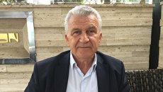 Специальный советник премьер-министра Греции по вопросам сотрудничества с Россией Димитриос Веланис. Архивное фото