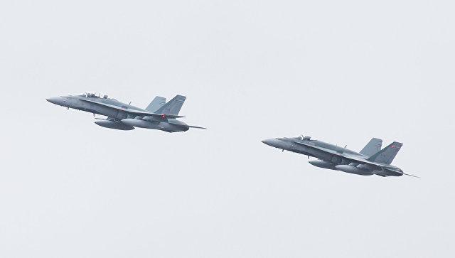 Истребитель ВВС Канады разбился вцентральной части страны