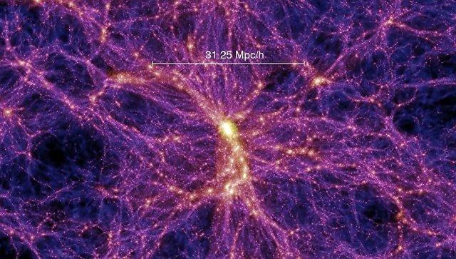 Компьютерная модель «паутины» Вселенной