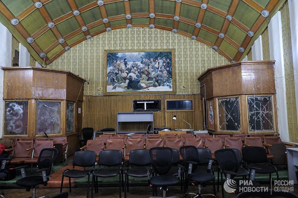 Актовый зал киностудии Союзмультфильм