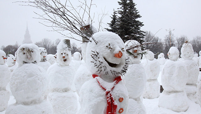 НаАлтае пройдет чемпионат полепке снеговиков