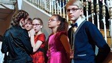Участники XVI Международного телевизионного конкурса юных музыкантов Щелкунчик