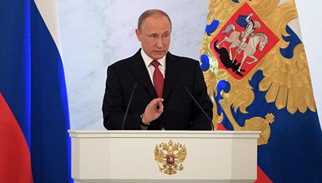 Губернатор Олег Кувшинников сегодня находится в столице наежегодном послании Президента