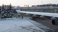 Самолет в аэропорту Внуково. Архивное фото