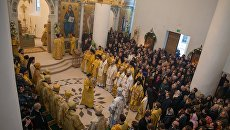 Визит Патриарха Кирилла в Париж