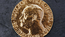 Медаль, которую вручают лауреатам нобелевской премии