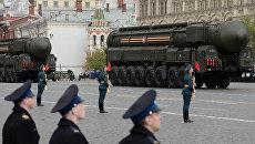 Репетиция военного парада в честь Дня Победы. Архивное фото
