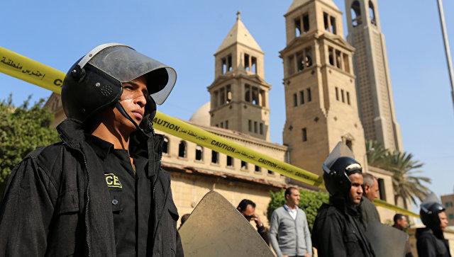 Количество погибших отвзрыва всоборе вКаире возросло до25