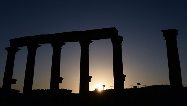 Историческая часть Пальмиры. Архивное фото