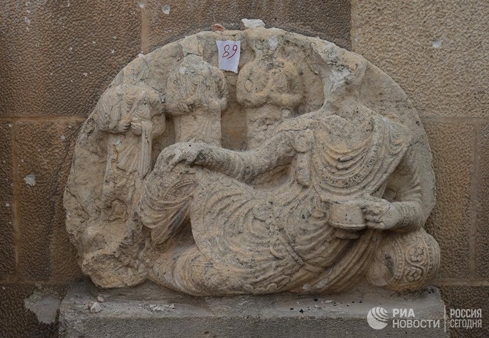 Исламские боевики изэкстремистской группировки взорвали вПальмире Тетрапилон ичасть Римского театра