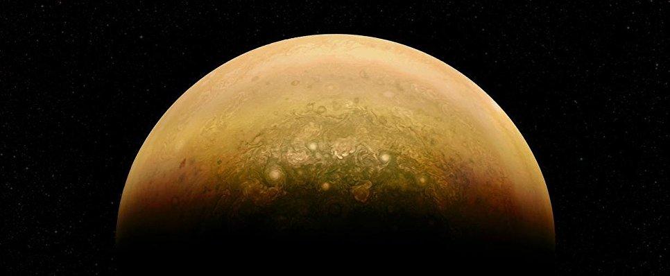 Ураганы в атмосфере Юпитера