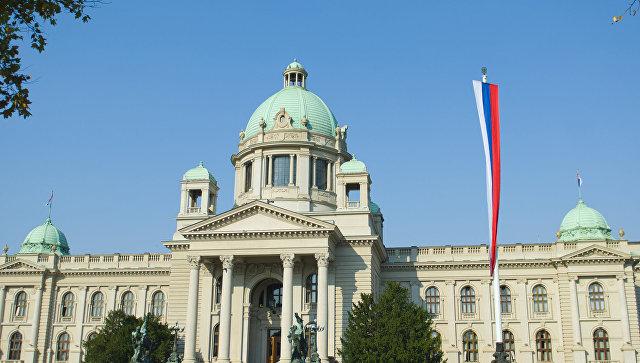 Парламент Сербии в Белграде. Архивное фото