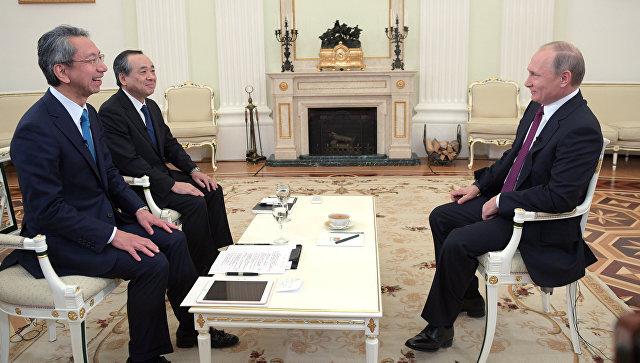 Путин позвонил эмиру Катара поповоду «Роснефти»