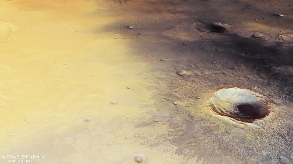 Марсианский кратер Скиапарелли