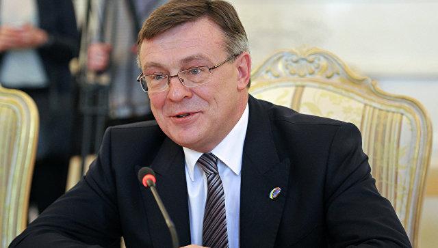 Министр иностранных дел Украины Леонид Кожара. Архив
