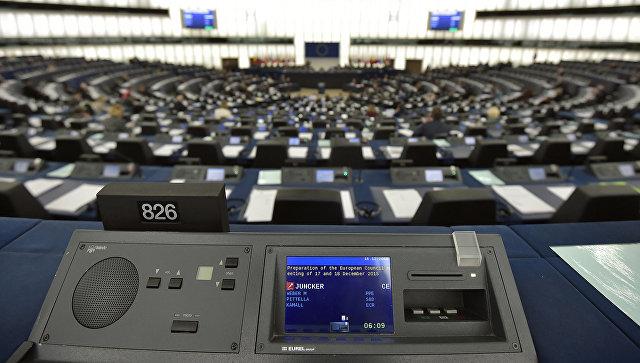 Зал заседаний Европейского парламента. Архивное фото