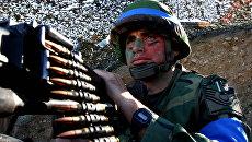 Солдат турецкой армии. Архивное фото