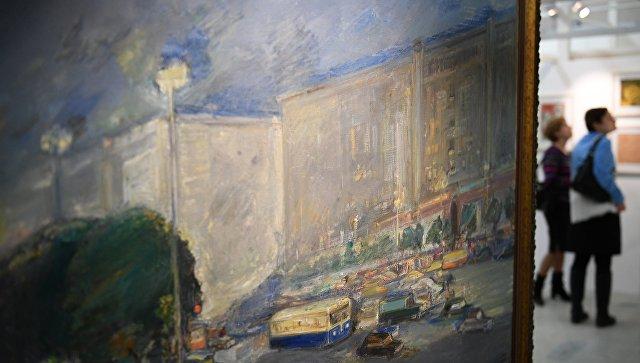 На открытии выставки в музее. Архивное фото
