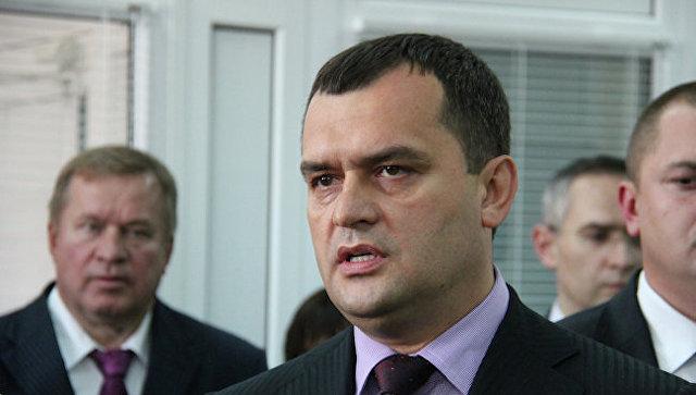 Министр внутренних дел Украины Виталий Захарченко. Архивное фото