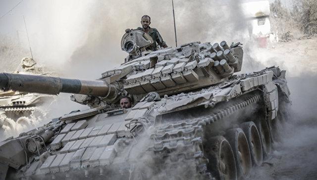Сирийские войска блокировали боевиков ИГ* у Дейр-Хафира в провинции Алеппо
