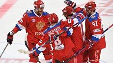 Российские хоккеисты. Архивное фото